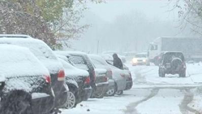 снег метель непогода
