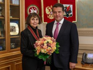 В Казани встречают Софию Губайдулину