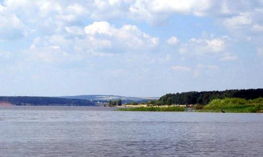 волга казань водохранилище река