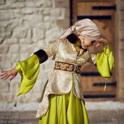 стилизованный татарский костюм
