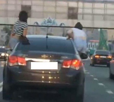 В Татарстане водителя накажут рублём за пассажиров-«каскадёров»