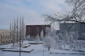 челны зима
