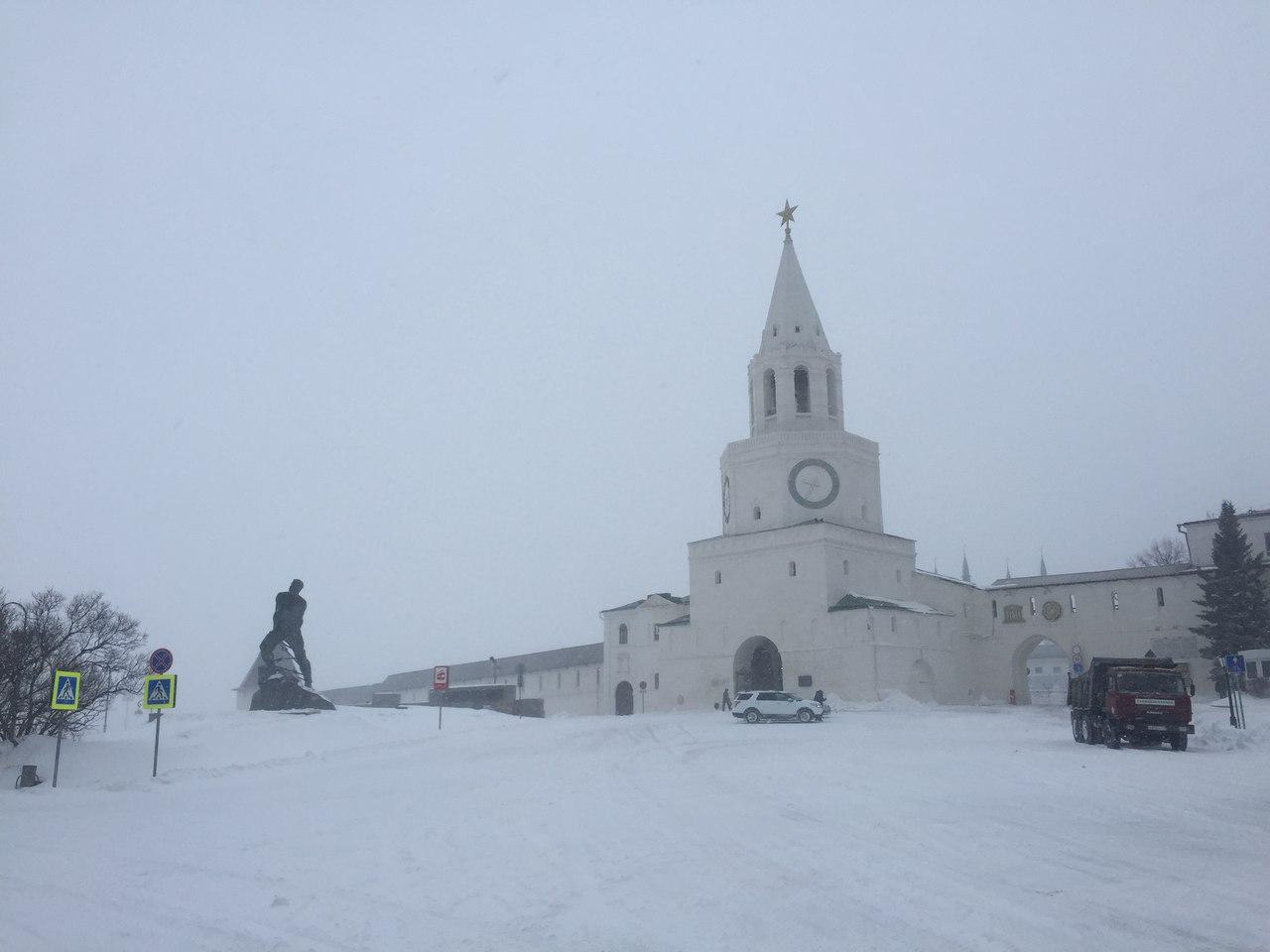 Метель в Казани