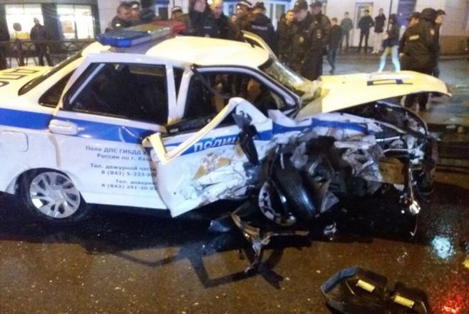 дтп погиб полицейский