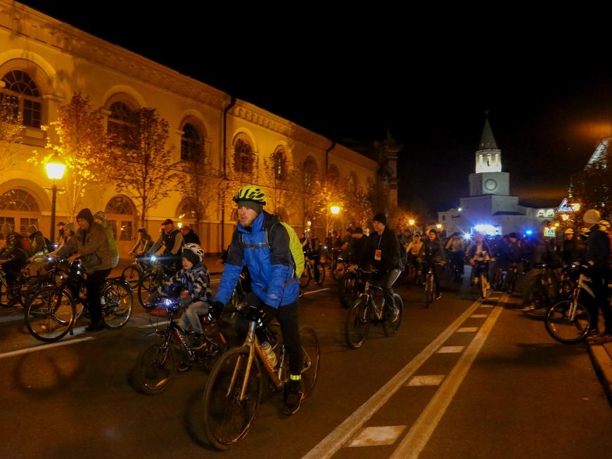 ночной велофест