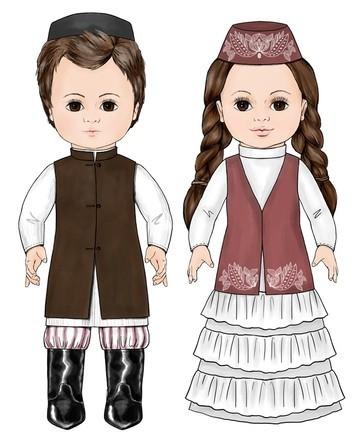 куклы, говорящие на татарском