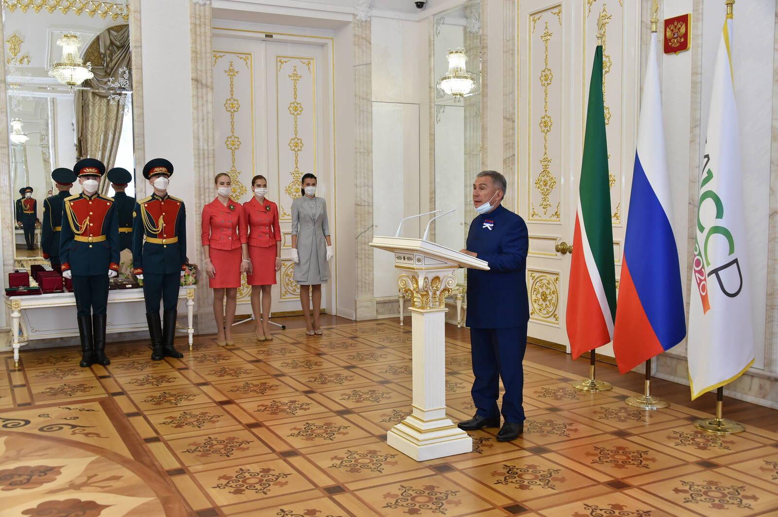 награждение кремль