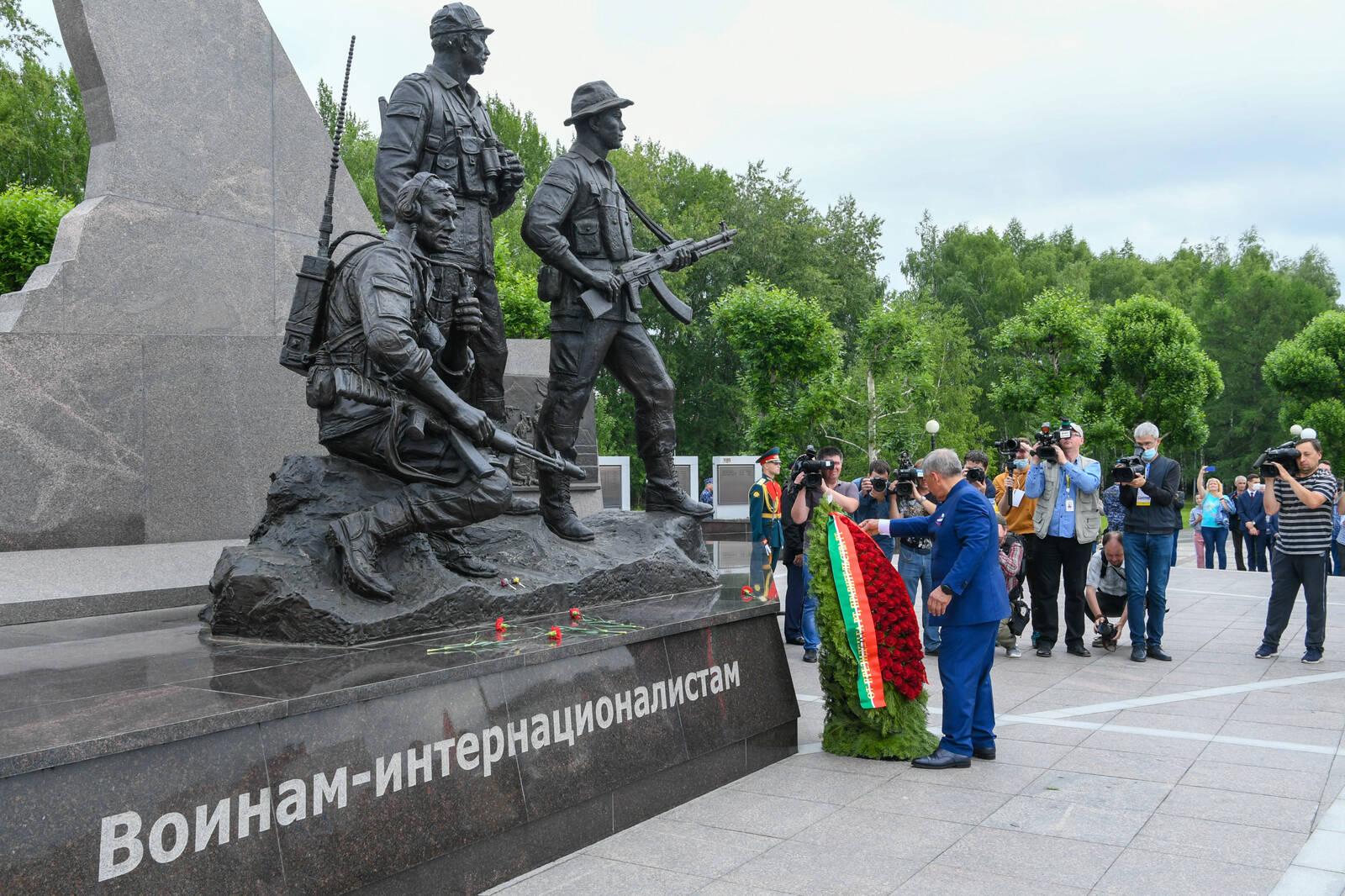 памятник мемориал афганцам