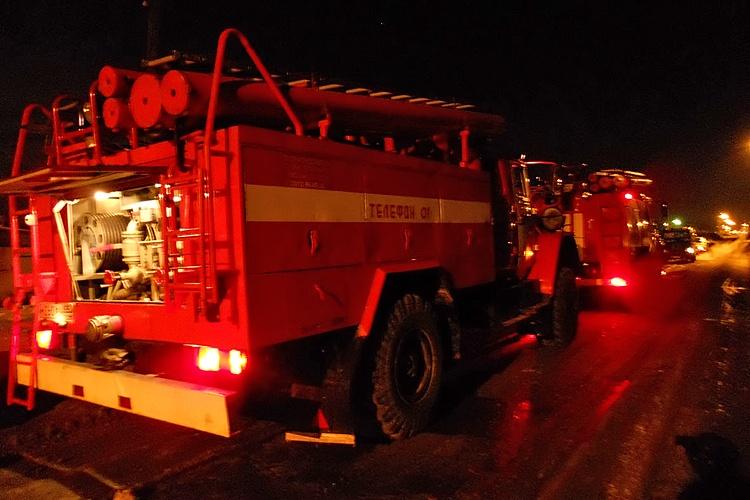 пожар на чуйкова