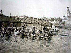 прачки на озере кабан казань