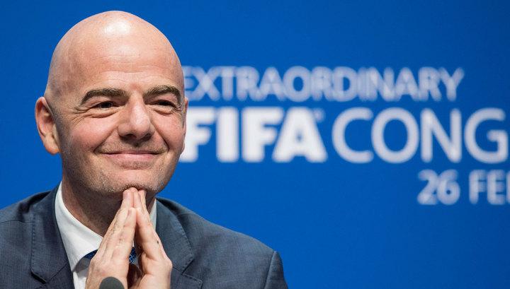 Руководитель ФИФА Инфантино приедет вКазань нажеребьевку Кубка конфедераций