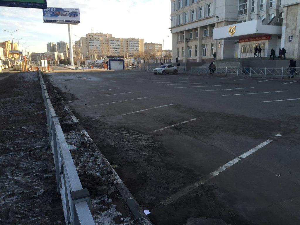 стоянка парковка казань