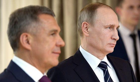 минниханов путин президенты татарстан