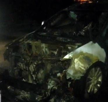 субару сгорело авто миниатюра
