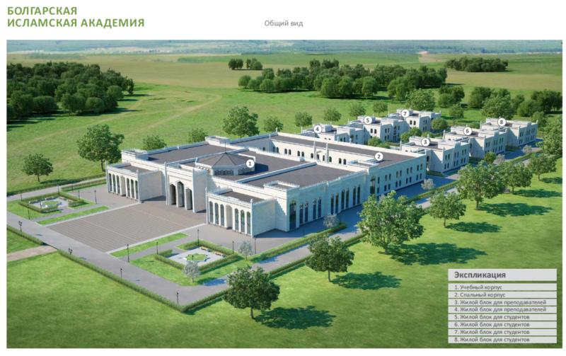 Данной осенью вТатарстане откроется Болгарская исламская академия