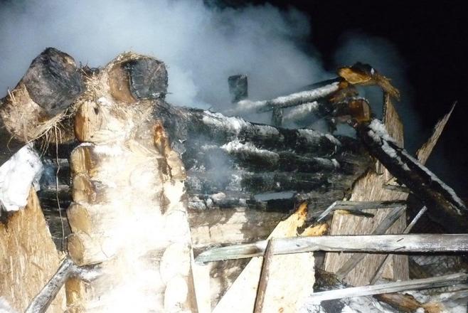 Вбане под Альметьевском живьем сгорел человек