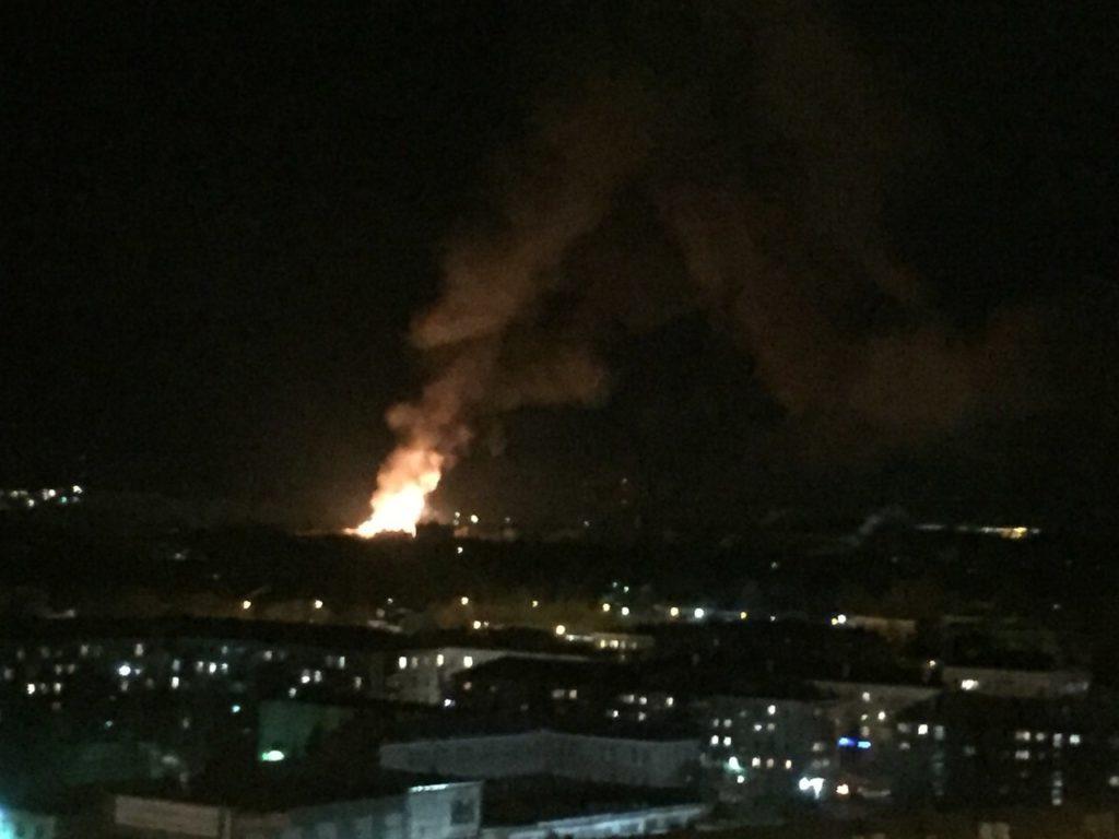 Офицер МЧС умер при взрыве напороховом заводе вКазани