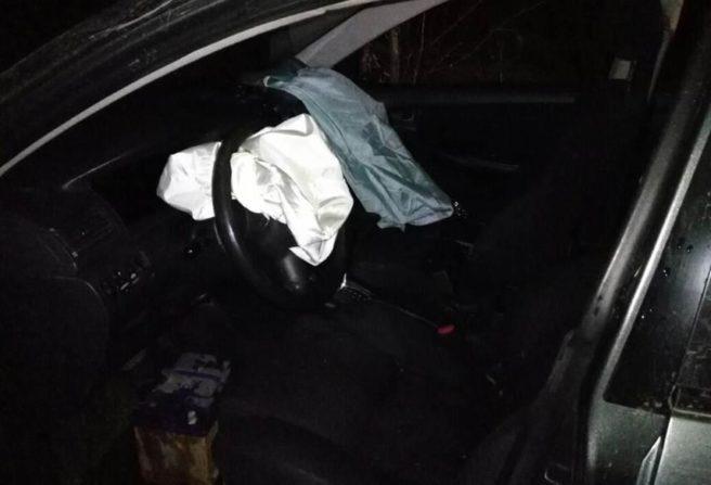 22-летняя девушка-водитель вНижнекамском районе вылетела вкювет наиномарке