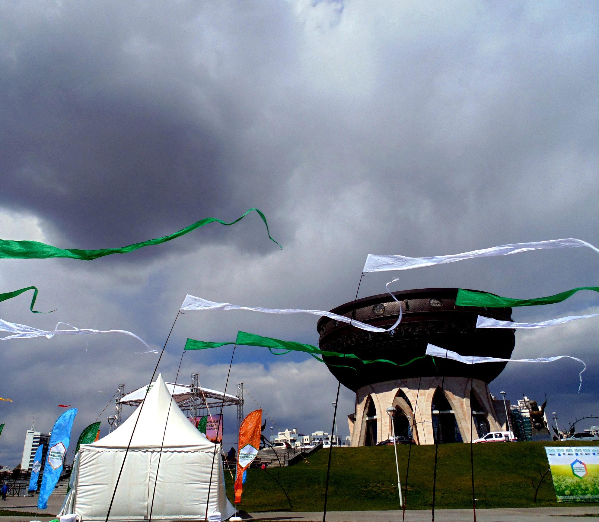 фестиваль воздушных змеев в казани
