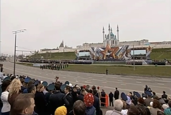ВКазани закончился парад Победы
