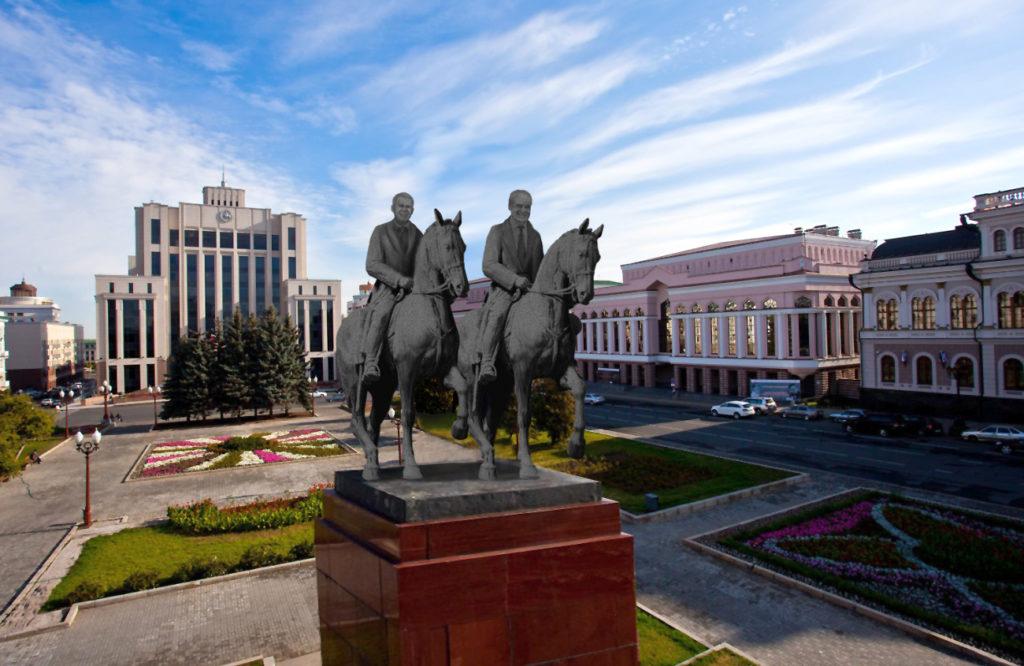 памятник шаймиеву минниханову