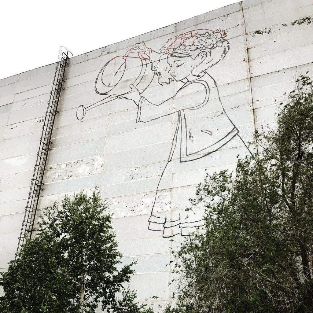 граффити на восстания