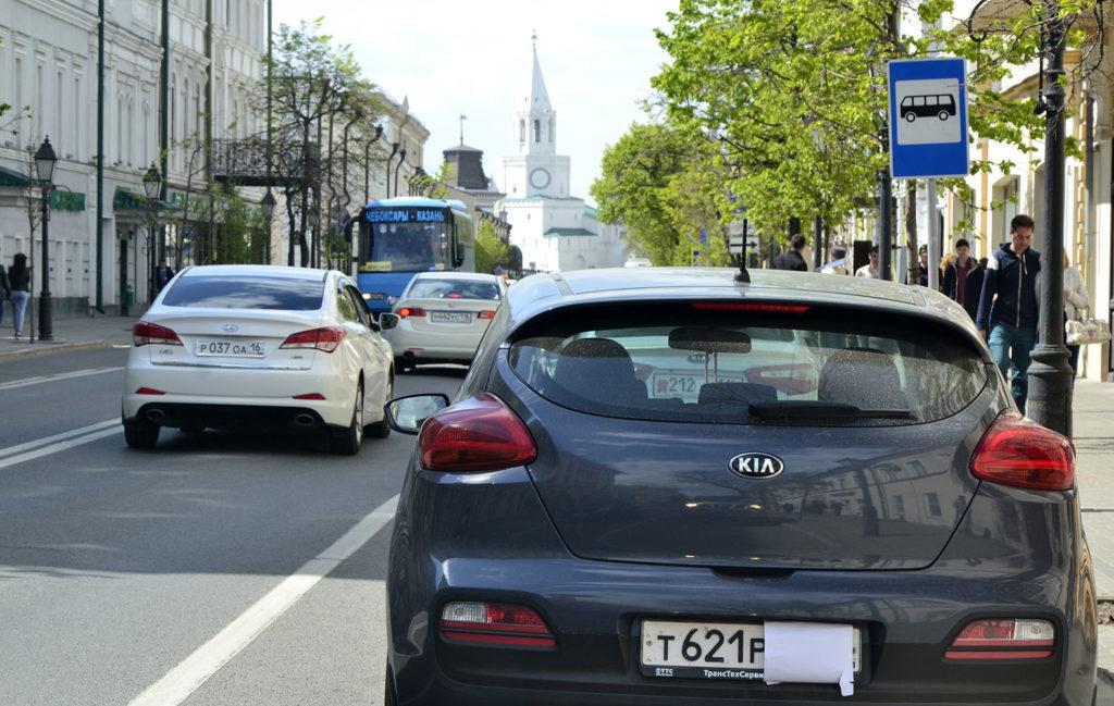 Промрейтинг: 20 процентов автомобилистов Казани замазывают номера грязью