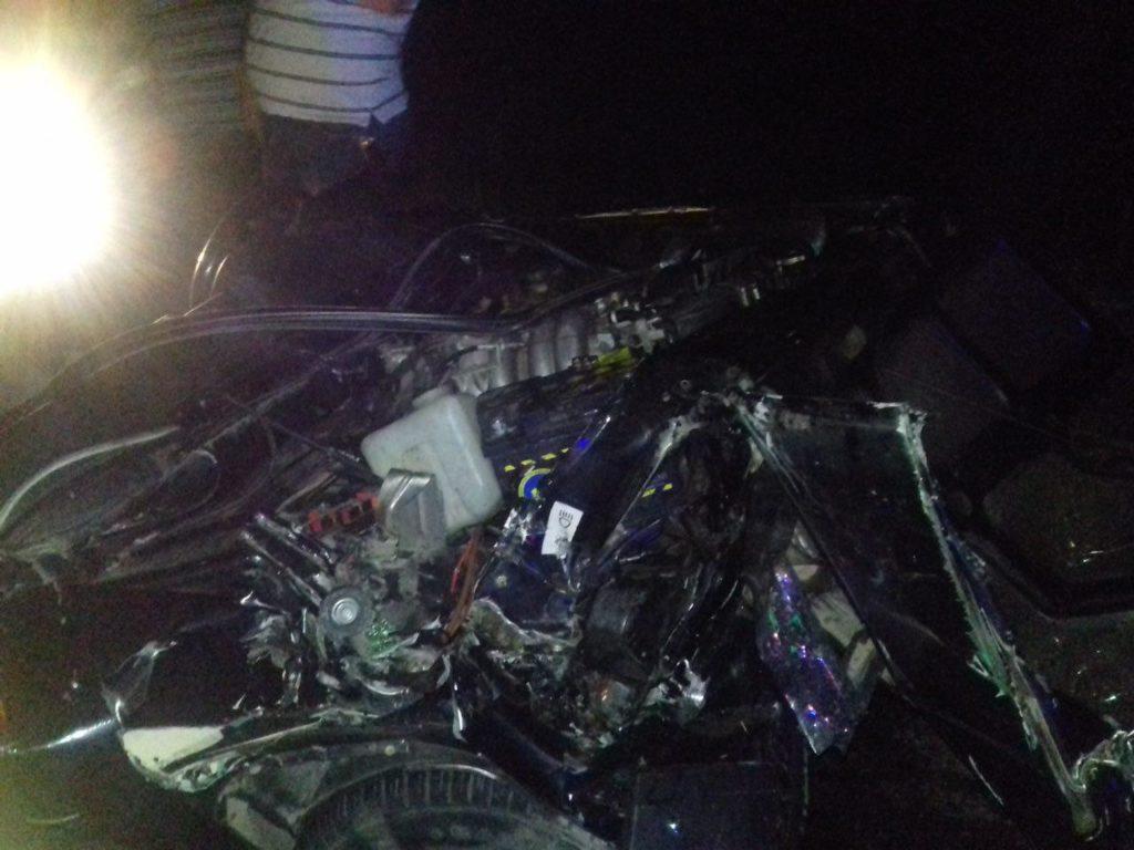 Появились фото чудовищного ДТП вБугульминском районе, где погибли двое