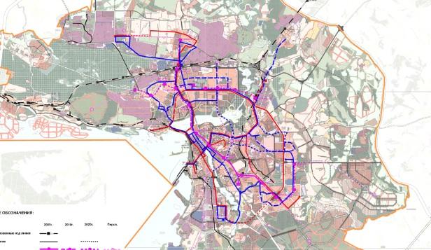 карта схема транспорт