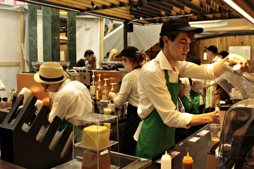 starbucks trade barriers The most prominent barrier to trade that starbucks faces is sociocultural differences what works for a starbucks store in america may not be well received in another country for example, in america there is a large amount of emphasis placed on speed.