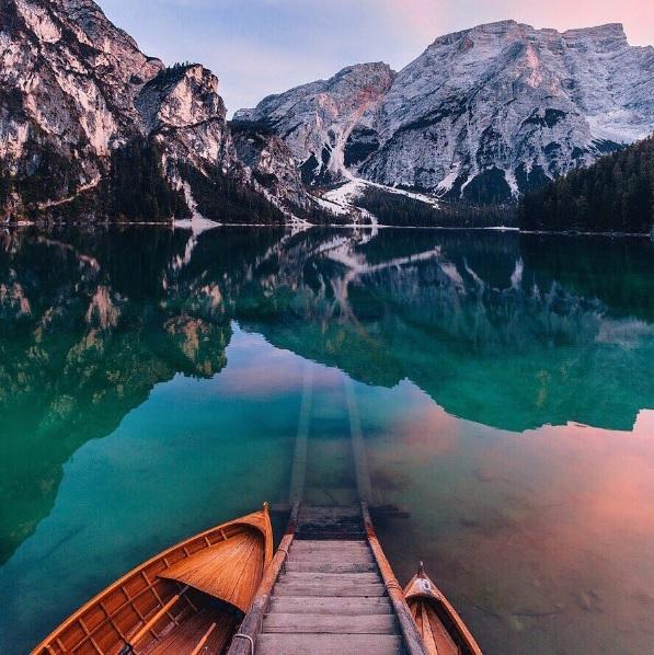 Айгуль Вишня фото италия озеро