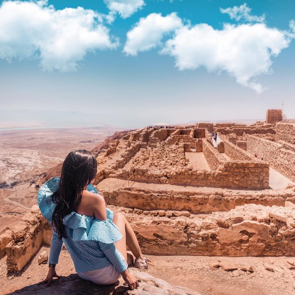 Айгуль Вишня фото израиль крепость масада