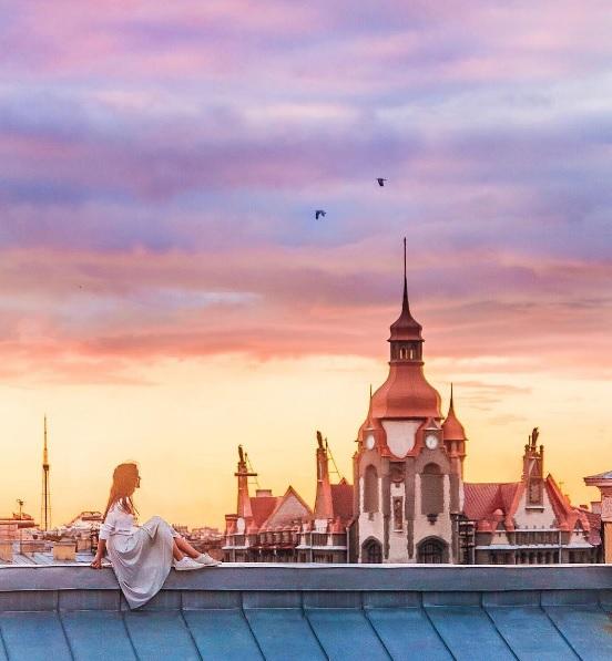 Айгуль Вишня фото питер крыши
