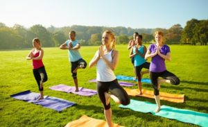Bringing balance to busy lives - Yoga