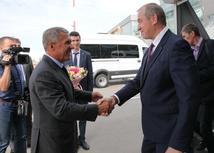 Сергей Левченко: Приангарье иТатарстан выстраивают информационный мост межрегионального сотрудничества