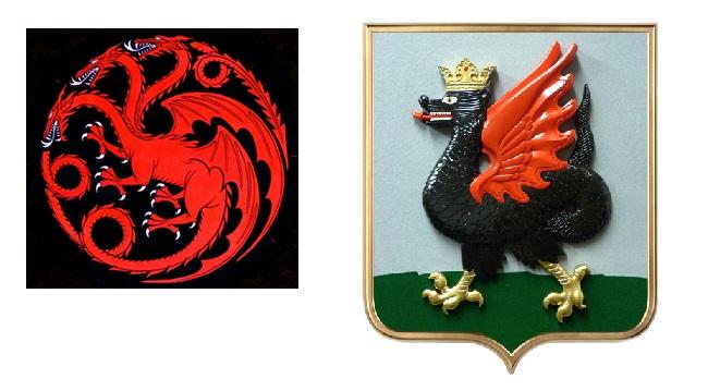 Дейенерис одобряет: герб Казани оказался среди гербов «Игры престолов»