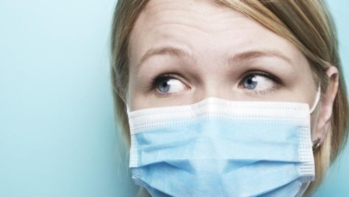 маска медицинская грипп