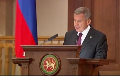 Минниханов подчеркнул роль разделения полномочий федерального центра иТатарстана