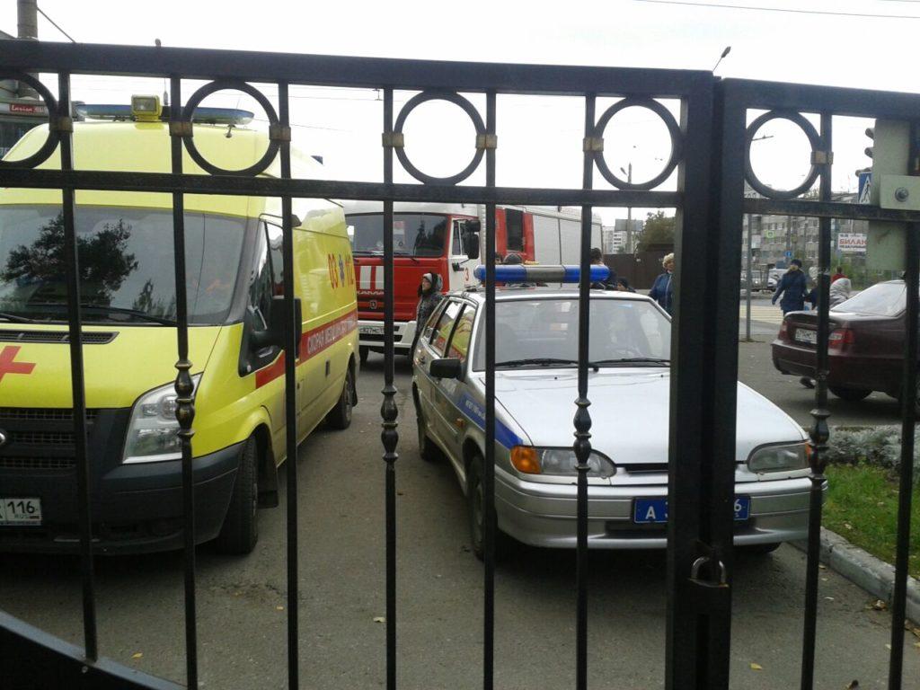 Эвакуация Казань школа