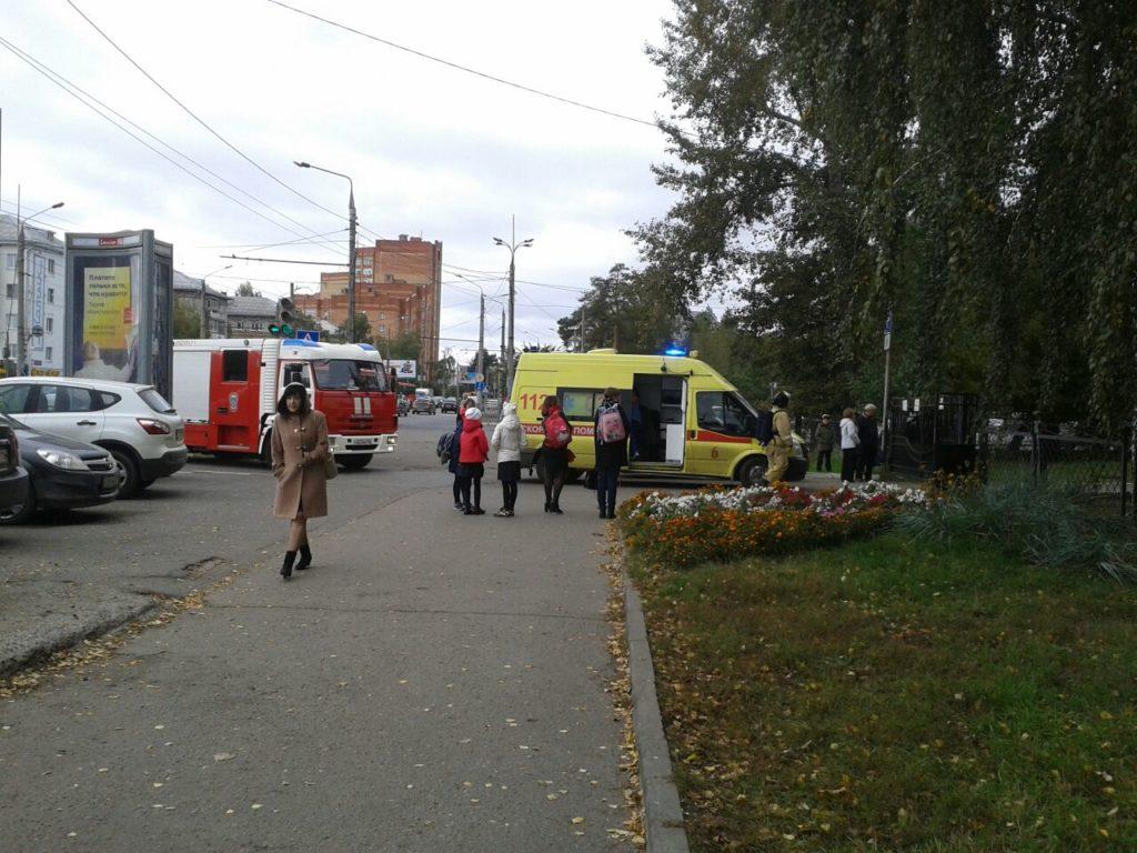 Эвакуация Казань школа 2