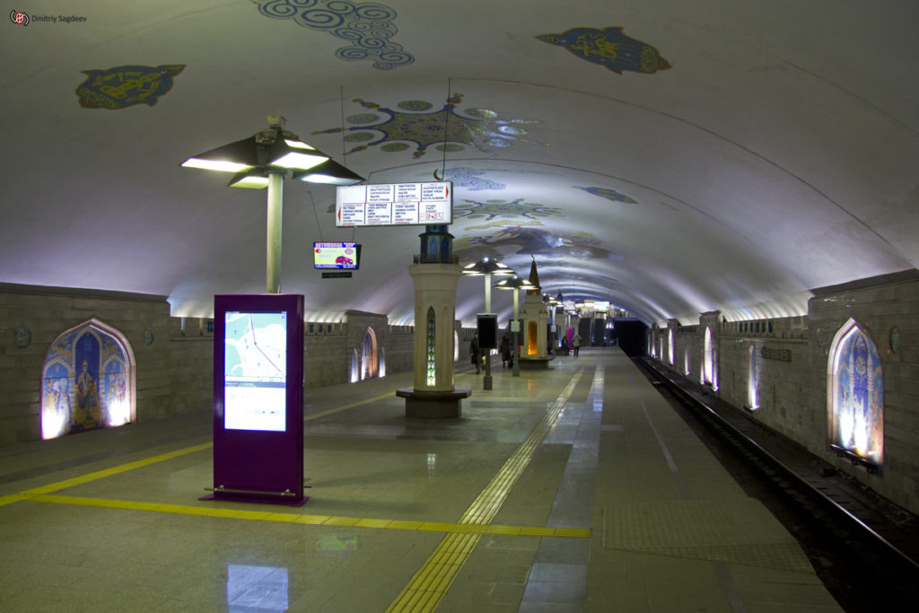 Сеснорный киоск для казанского метрополитена