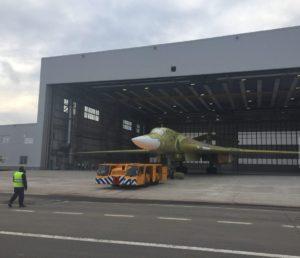 новый самолет ту-160м ракетоносец