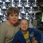 Анна Массарова и сын