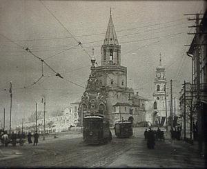 казань начала xx века спасская башня кремль