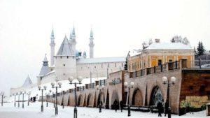 мороз зима холод снег кремль