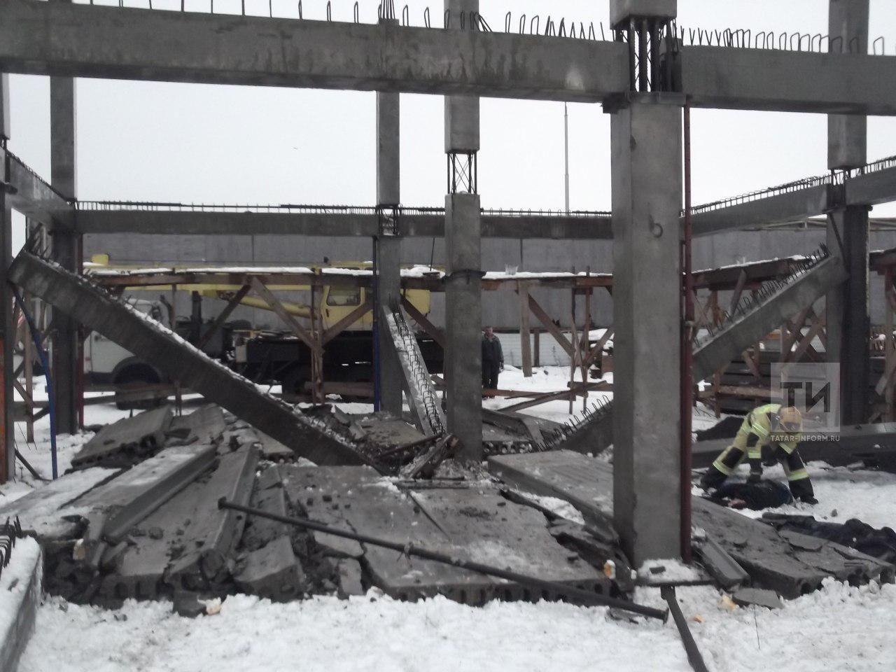 плита раздавила насмерть двух строителей