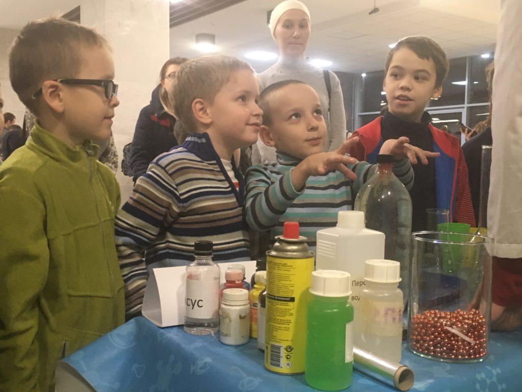 дети опыты химия наука