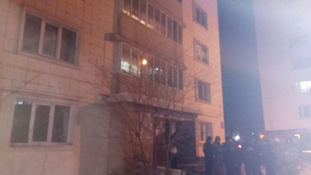 Две женщины иребенок погибли впожаре вмногоквартирном доме вКазани