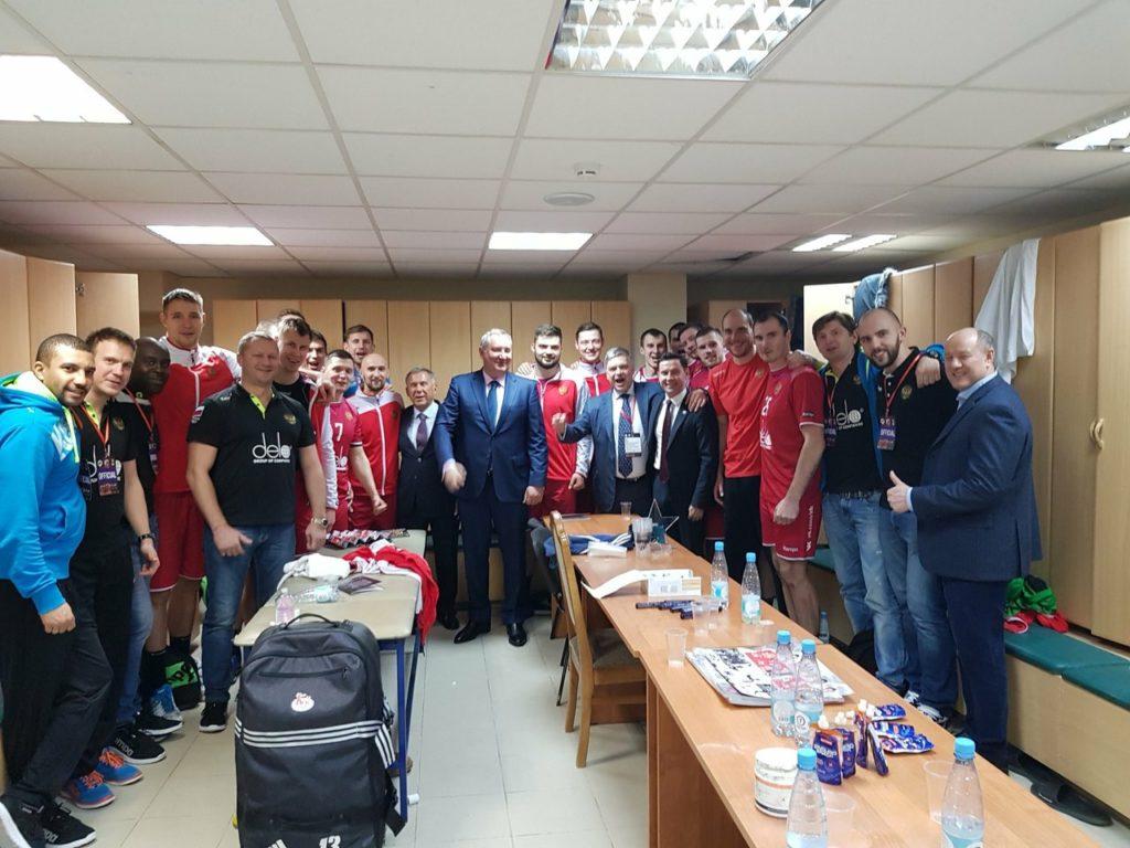 Гандбольный дебют – как сборная России впервые сыграла в Казани