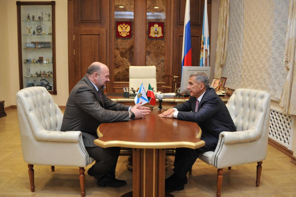 Власти Архангельска поблагодарили Владимира Путина заподдержку ввосстановлении старейшей мечети